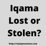 iqama lost
