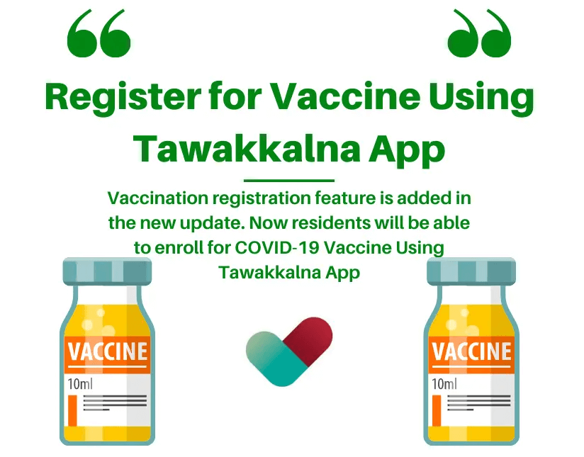 How To Register A Vaccine In Tawakkalna