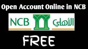 Open A New Bank Account in NCB Alahli Bank Online