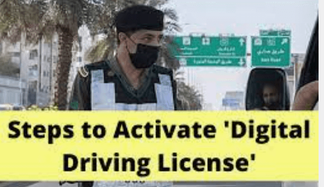How to Activate Digital Driver License in Absher
